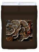 Shrooms Abstracted Duvet Cover