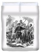 Sicily: Guerrillas, 1860 Duvet Cover