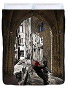 Sicily Meets Venice Duvet Cover