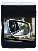 Side View Mirror Duvet Cover