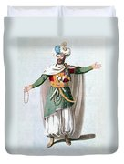Sidy Hafsan, Bey Of Tripoli, 1816 Duvet Cover