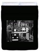 Silent Still: Laboratories Duvet Cover