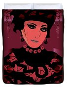 Silk Chiffon Duvet Cover by Natalie Holland