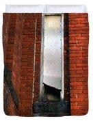Silk Mill Soot Duvet Cover