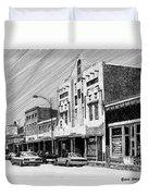 Silver City New Mexico Duvet Cover