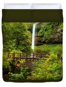 Silver Falls Bridge Duvet Cover