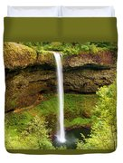 Silver Falls South Falls Duvet Cover