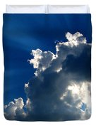 Silver Lining I Duvet Cover