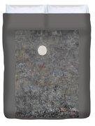 Silver Moon Duvet Cover