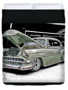 Silver Street Rod Hdr Duvet Cover