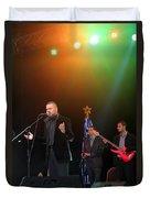 Singer Hasan Ammar In Bethlehem Duvet Cover