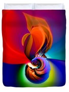 Siphonophoric Colony Duvet Cover