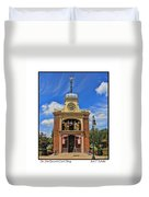 Sir John Bennett Clock Shop Duvet Cover