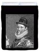 Sir John Hawkins (1532-1595) Duvet Cover