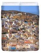 Siros Greece 2  Duvet Cover