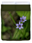 Sisters Of The Purple Plants Duvet Cover