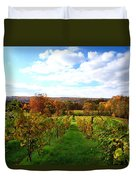 Six Miles Creek Vineyard Duvet Cover