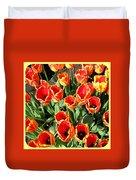 Skagit Valley Tulips 10 Duvet Cover