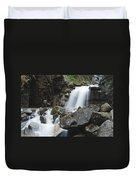 Skagway Waterfall 8619 Duvet Cover