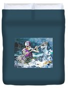 Skelet Oar Duvet Cover