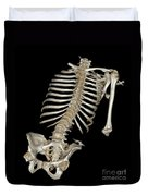 Skeletal Reconstruction Duvet Cover