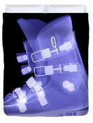 Ski Boot Duvet Cover