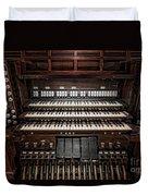 Skinner Pipe Organ Duvet Cover