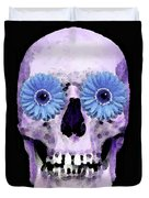 Skull Art - Day Of The Dead 3 Duvet Cover