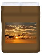 Sky Ablaze 1 Duvet Cover by Marty Koch