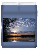 Sky At Dusk Duvet Cover