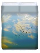 Sky On Water Duvet Cover by Brian Wallace