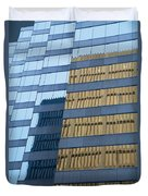 Sky Scraper Tall Building Abstract With Windows And Reflections No.0102 Duvet Cover