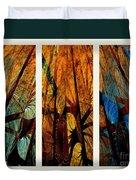 Sky-trees Montage Duvet Cover