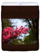 Skylit Blooms Duvet Cover