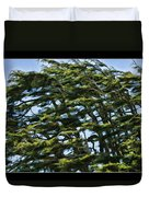 Slanted Branches Duvet Cover