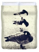 Sleeping Ducks Duvet Cover by Joana Kruse