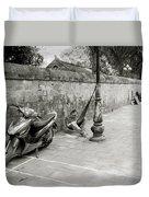 Sleeping In Hanoi Duvet Cover
