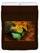 Sleeping Lion 2 Duvet Cover
