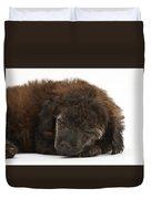 Sleeping Puppy Duvet Cover