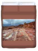 Slickrock Duvet Cover by Bob Christopher