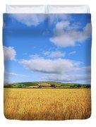 Slieveardagh Hills, Co Kilkenny Duvet Cover