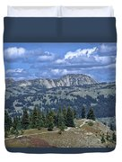 Slocan Valley Duvet Cover