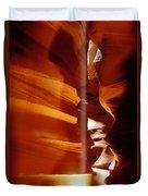 Slot Canyon Shaft Of Light Duvet Cover