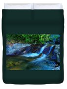 Small Blue Water Duvet Cover