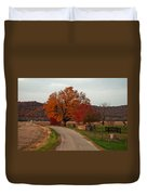 Small Country Road Duvet Cover