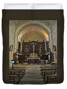 Small French Chapel Duvet Cover