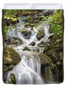 Small Waterfalls And Brook West Bolton Duvet Cover
