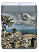 Smiling In The Sky Duvet Cover