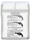 Smith & Wesson Revolvers Duvet Cover