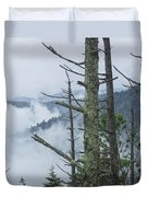 Smokey Mountain Forest No.612 Duvet Cover